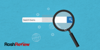How to use Rosh Review search feature on the ABEM ConCert Exam